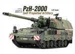 German Panzerhaubitze 2000 Self-Propelled Howitzer - Woodland Camouflage