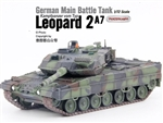 German Kampfpanzer Leopard 2A7 Main Battle Tank - Woodland Camouflage