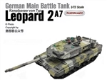 German Kampfpanzer Leopard 2A7 Main Battle Tank - Mixed European Camouflage