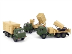 Israeli Iron Dome Missile Shield Battery [Three Truck Set]