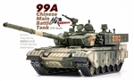 Chinese Peoples Liberation Army ZTZ99A Main Battle Tank - Woodlands Camouflage