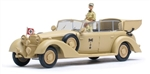 German 1938 770K Grand Mercedes Ceremonial Parade Limousine - Deutsches Afrika Korps, Rommel and Driver