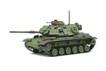 USMC M60A1 Patton Medium Tank with Explosive Reactive Armor (ERA) - Woodland Camouflage