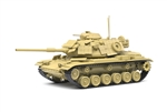 USMC M60A1 Patton Medium Tank with Explosive Reactive Armor (ERA) - Desert Camouflage