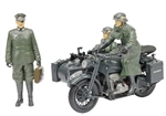 German BMW R75 Motorcycle with Sidecar and Two Soldiers - Wehrmacht