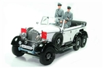 1938 Daimler-Benz Gelandewagen Typ 4 (G4) Limousine with Three Figures - Off White