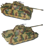 German Late Version Sd. Kfz. 171 PzKpfw V Panther Ausf. G Medium Tank - Kampfgruppe Peiper