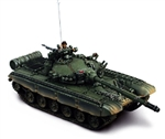 Soviet T-72 Main Battle Tank - European Camouflage