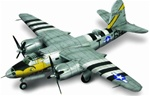 USAAF Martin B-26B Marauder Medium Bomber - The Big Hairy Bird, 599th Bombardment Squadron, 397th Bombardment Group, France, 1944