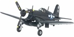 "USMC Chance-Vought F4U-1C Corsair Fighter - VMF-112 ""Wolf Pack"", Air Group 82, USS Bennington (CV-20), April 1945"