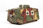 "German Sturmpanzerwagen A7V Infantry Support Tank - ""Skull and Crossbones"", Villers-Bretonneux, April 1918"