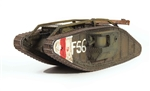 "British Mark IV Male Heavy Tank - ""Flypaper"", Cambrai, 1917"