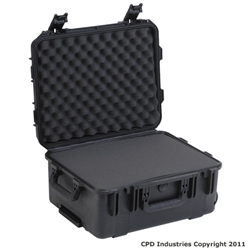 3I-1914-8B-C Military Std. Injection Molded Case - Cubed Foam - Wheels