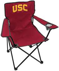 USC Trojans Gameday Elite Chair with Matching Carry Bag 00563098111