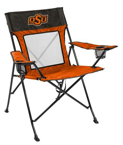 Oklahoma State University Cowboys Gamechanger Chair with Matching Carry Bag