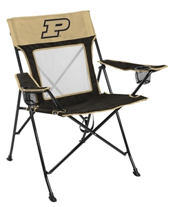 Purdue University Boilermakers Gamechanger Chair with Matching Carry Bag