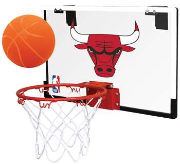 Chicago Bulls Basketball Hoop Set Indoor Goal