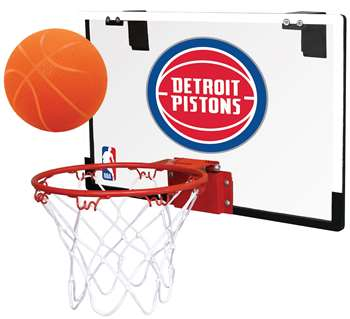 Detroit Pistons Basketball Hoop Set Indoor Goal