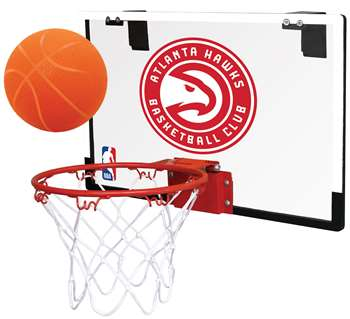 Atlanta Hawks Basketball Hoop Set Indoor Goal