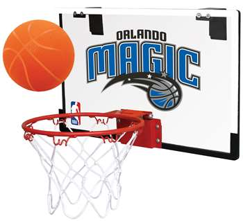 Orlando Magic Basketball Hoop Set Indoor Goal