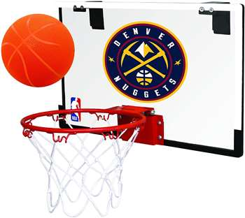 Denver Nuggets Basketball Hoop Set Indoor Goal