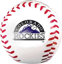 MLB Colorado Rockies Big Boy Softee Baseball