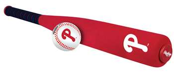 MLB Philadelphia Phillies Foam Bat & Ball Set