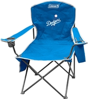 Los Angeles Dodgers  Cooler Quad Folding Chair XL Big Boy NFL