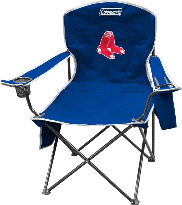 Boston Redsox Cooler Quad Folding Chair Xl Big Boy Nfl