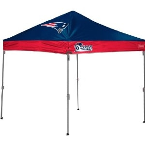 All Departments  sc 1 st  StadiumAllstar.com & New England Patriots 10 X 10 Canopy Tent - Straight Leg Tailgate Gazebo