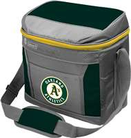 Oakland Athletics  16 Can Cooler with Ice - Coleman