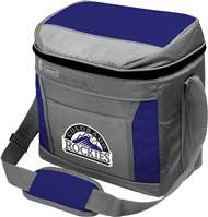 Colorado Rockies  16 Can Cooler with Ice - Coleman