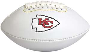 Kansas City Chiefs Mini Signature Football