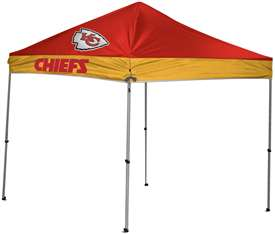 Kansas City Chiefs 9 X 9 Canopy - Tailgate Shelter Tent with Carry Bag