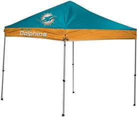 Miami Dolphins 9 X 9 Canopy Tailgate Tent