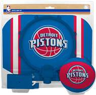 Detriot Pistons  NBA Indoor Softee Basketball Hoop Slam Dunk Set