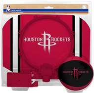 Houston Rockets  NBA Indoor Softee Basketball Hoop Slam Dunk Set