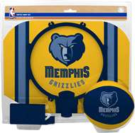 Memphis Grizzlies NBA Indoor Softee Basketball Hoop Slam Dunk Set