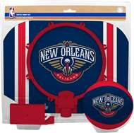 New Orleans Pelicans NBA Indoor Softee Basketball Hoop Slam Dunk Set