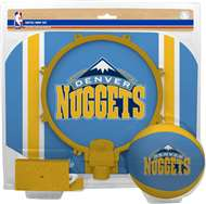 Denver Nuggets  NBA Indoor Softee Basketball Hoop Slam Dunk Set