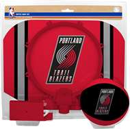 Portland Trailblazers  NBA Indoor Softee Basketball Hoop Slam Dunk Set