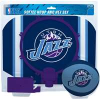 Utah Jazz  NBA Indoor Softee Basketball Hoop Slam Dunk Set