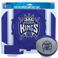 Sacramento Kings  NBA Indoor Softee Basketball Hoop Slam Dunk Set