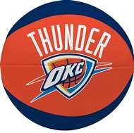 "Oklahoma City Thunder Free Throw 4"" Softee Basketball"