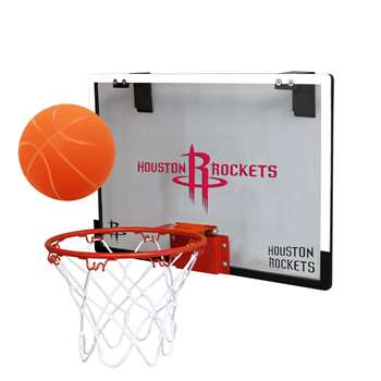 Houston Rockets Basketball Hoop Set Indoor Goal
