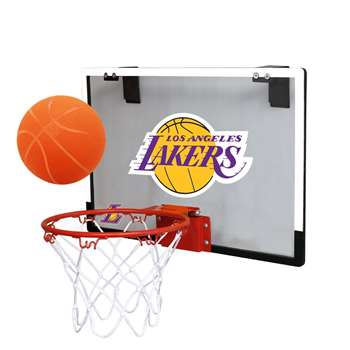 Los Angeles Lakers Basketball Hoop Set Indoor Goal