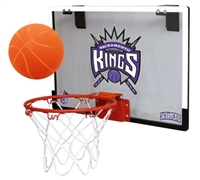 Sacramento Kings Basketball Hoop Set Indoor Goal