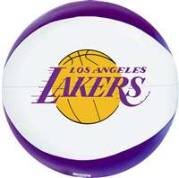 Los Angeles Lakers 8 inch Softee Basketball