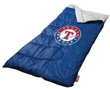 Texas Rangers Coleman Sleeping Bag