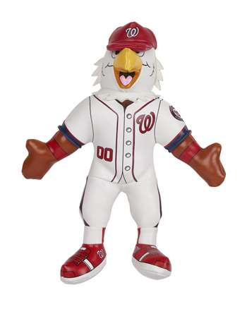 "MLB Washington Nationals 7"" Mascot Softee Screech"